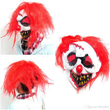 halloween mask clown halloween scary clown mask foam latex rubber party masks