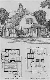 cottage home plans 1920s cottage small homes books of a thousand homes