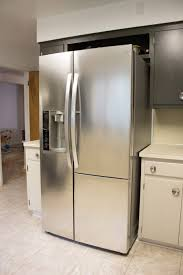 a 21st century fridge in a 1950 u0027s kitchen merrypad