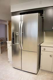 a 21st century fridge in a 1950 u0027s kitchen merrypad