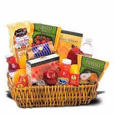 food gift delivery healthy gift basket at send flowers