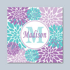 Teal Teen Bedrooms - popular items for teal bedroom decor on etsy purple wall art