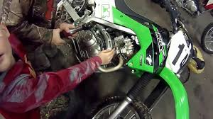 klx clutch install youtube