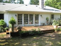 What Is Ranch Style House Ranch House Deck Ideas French Doors Deck Ranch Style House