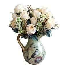 silk flowers for wedding top 20 best artificial wedding centerpieces bouquets heavy