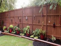 Backyard Fence Decorating Ideas Backyard Fence Decorating Ideas Backyard Landscape Design