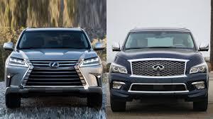 lexus truck lx 2016 lexus lx vs 2016 infiniti qx80 youtube