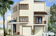 Contemporary Beach House Plans by Beach House Plans E Architectural Design