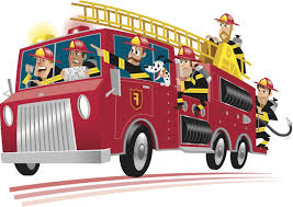 hd cartoon fire truck clipart clipartcow file free