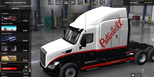 peterbilt 387 truck for low end mods american truck simulator