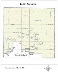 Michigan Township Map by County Of Midland Michigan U003e Equalization U003e Tax Maps U003e Larkin