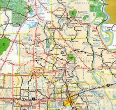 louisiana highway map interstate guide interstate 49