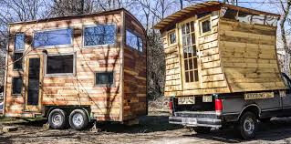 gypsy tug micro cabin by carpenter owl