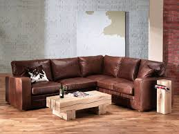 Small Brown Leather Corner Sofa Vintage Square Leather Corner Sofa We Bought It Bergheim