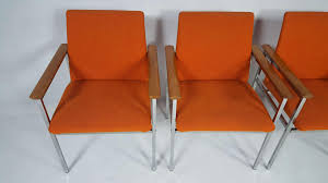 vintage modernist chairs by sigvard bernadotte set of 4 for sale
