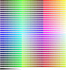 100 unique color names chromesthesia wikipedia color