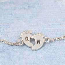 sterling silver personalised and handmade bracelets and bangles