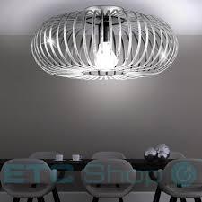 Schlafzimmer Lampe E27 Vintage Decken Leuchte Arbeitszimmer Lampe Metall Käfig Strahler