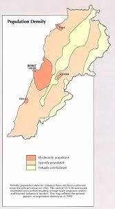 Beirut On Map The Lebanon Com Lebanon Map Of Lebanon