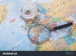 search road map find way search your travel road stock photo 530878639