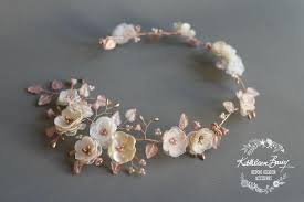 handmade hair accessories gold wedding bridal hair accessories handmade by