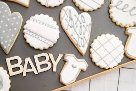 baby shower sugar cookies beau sheep the sweet