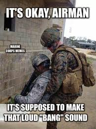 Us Marine Meme - marines and airforce funny google search marine stuff