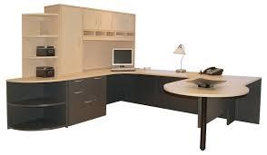 lovely u shaped office desk with hutch u shaped office desk home office