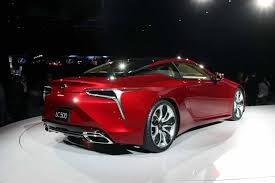 how much is the lexus lc 500 going to cost 2018 lexus lc 500 is a spicy 467 hp flagship coupe autoguide com