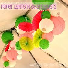 Paper Lantern Chandelier Mer Enn 25 Bra Ideer Om Paper Lantern Chandelier På Pinterest