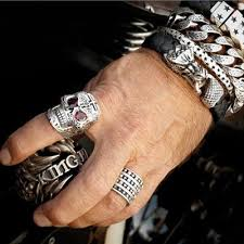baby king rings images Mb cross stackable sterling silver ring by king baby tribal jpg