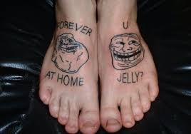 Tattoo Meme - 20 extremely permanent meme tattoos smosh