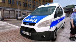 ford transit 2015 ford transit polish police 2015 for gta 4