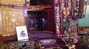 Vardo Interior Bow Top Gypsy Vardo Horse Drawn Carriage Youtube