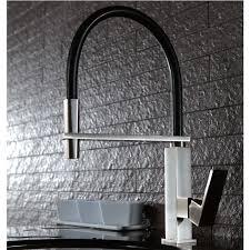 Designer Kitchen Tap by Pull Out Kitchen Tap Brushed Nickel U0026 Black