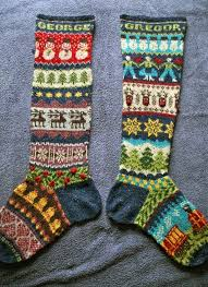authentic scottish fair isle knitting cottageartcreations