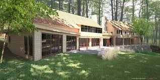 lincoln brown illustration shelburne point residence