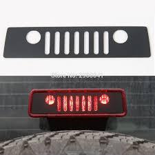 jeep bumper stickers third brake light lamp cover sticker jeep wrangler 2011 2016