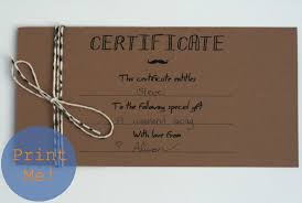 the petit cadeau printable gift certificates for men