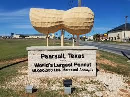 Texas Home Pearsall Texas Home Of The World U0027s Largest Peanut Heartland