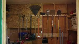 how to hang tools in shed garden shed storage racks tools garage shelf rack hang on leonie