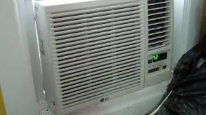 Window Ac With Heater Installing A Ac Heater Window Unit Youtube