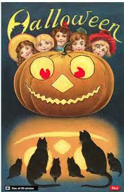 halloween greeting cards 228 best halloween postcards images on pinterest happy halloween