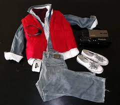Marty Mcfly Halloween Costume Style Scenario Halloween Costume Party