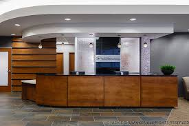 Medical Reception Desks by Pinnacle Surgery Center Concepts In Millwork