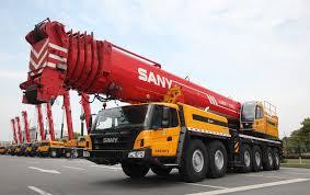 palfinger sany mobile cranes buy truck cranes rough terrain
