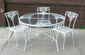 Retro Patio Furniture Modern Vintage Metal Outdoor Furniture Tedxumkc Decoration
