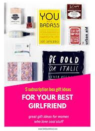 day 5 subscription box gift ideas for women kiddo u0026soul