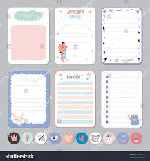 template for daily planner cute calendar daily weekly planner template stock vector 446684020 cute calendar daily and weekly planner template note paper and stickers set with vector funny