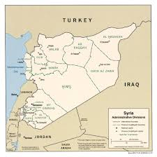 Maps Syria by Maps Of Syria Detailed Map Of Syria In English Tourist Map Of